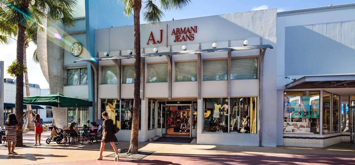 Armani Jeans Lincoln Road